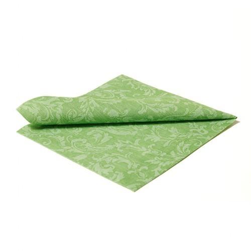 Serviette Floral 40x40cm grün