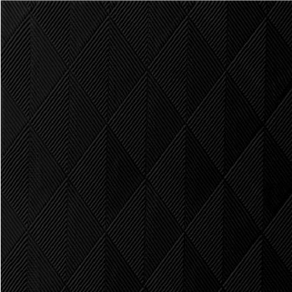DUNI Elegance Serviette 40x40 cm 1/4F.Crystal schwarz