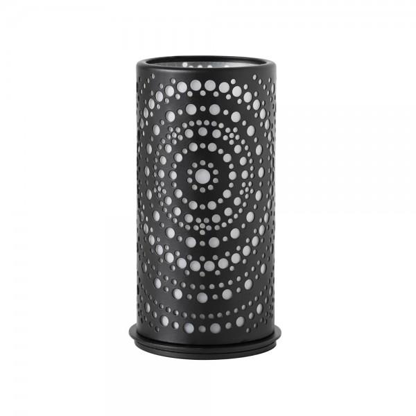 DUNI Kerzenhalter aus Metall 140 x 75 mm Billy schwarz