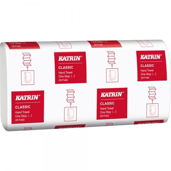 Katrin Falthandtücher Mini 2-lagig weiß L2