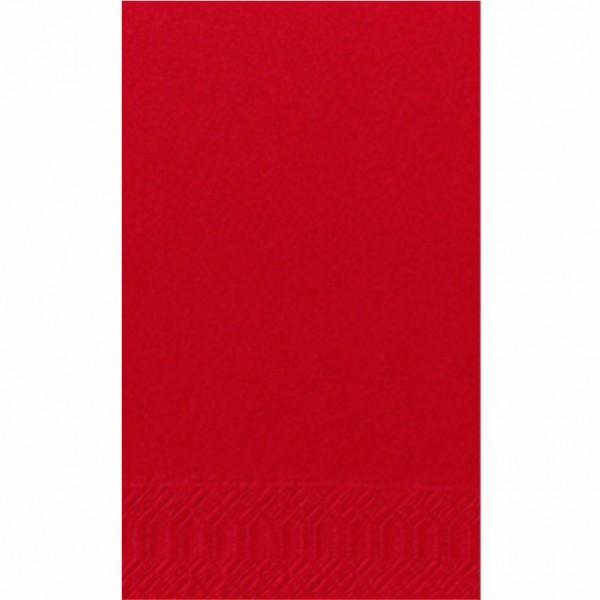 DUNI Zelltuch Serviette 40x40 cm 1/8F.rot