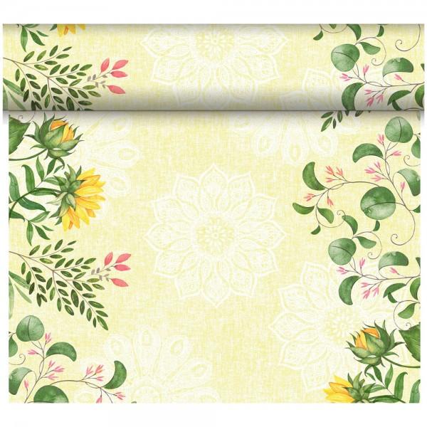 DUNI Tete-A-Tete Tischläufer Dunicel Sunflower