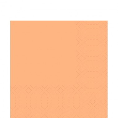 Fasana Zelltuch Serviette 33x33cm 1/4F. apricot