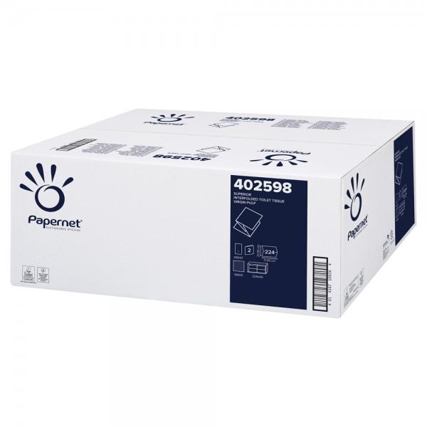 Topa Einzelblatt Toilettenpapier Zellstoff 21x11cm