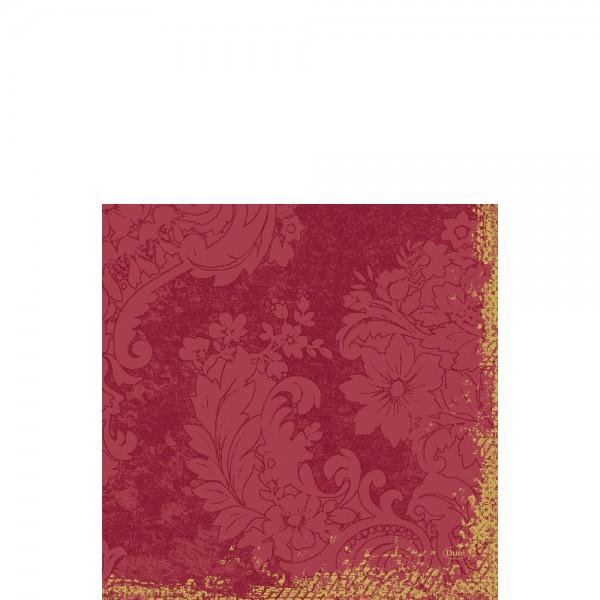 DUNI Zelltuch Serviette 33x33 cm 1/4F.Royal Bordeaux