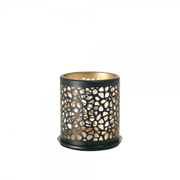 DUNI Kerzenhalter aus Metall 75 x 75 mm Safari Giraffe