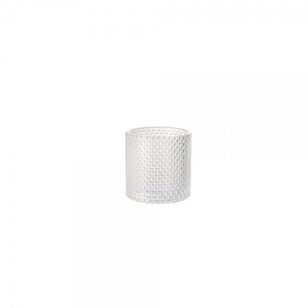 DUNI Glas Kerzenhalter Calm klar 80x80mm
